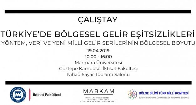 Türkiye'de Bölgesel Gelir Eşitsizlikleri Çalıştayı